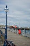 Пристань Дорсет Великобритания Swanage Стоковое Изображение