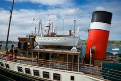 Пристань Дорсет Великобритания Swanage Стоковая Фотография