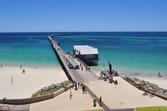 Пристань западная Австралия молы Busselton Стоковые Фото