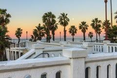 Пристань Калифорнии берега океана Стоковое Фото
