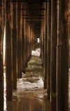 пристань колонок Стоковое Фото