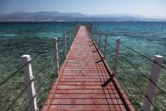 Пристань Красного Моря Eilat, Израиль стоковое изображение