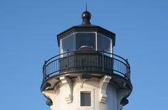пристань маяка duluth Стоковое Фото