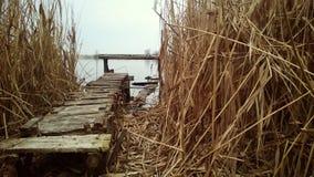 Пристань Место, который нужно думать Стоковые Фотографии RF