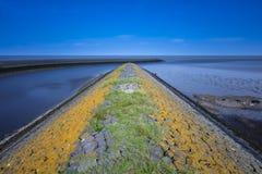 Пристань моря Wadden на Harlingen Стоковое Изображение RF
