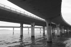 Пристань моста моста yanwu Стоковое Изображение RF