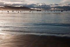 Пристань на заливе Сан Луис Обиспо Стоковые Фотографии RF