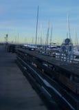 Пристань на Монтерей Стоковое Изображение