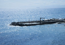 Пристань на море Стоковая Фотография