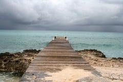 Пристань океана Стоковое Изображение