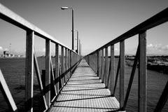 пристань перспективы Стоковая Фотография