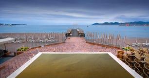 пристань пляжа Стоковые Изображения RF