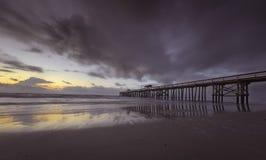 Пристань пляжа Fernandina Стоковые Изображения