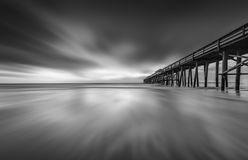 Пристань пляжа Fernandina Стоковые Изображения RF