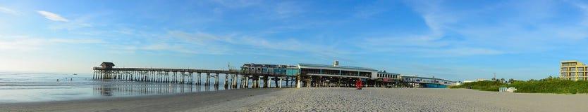 Пристань пляжа какао Стоковое Изображение RF