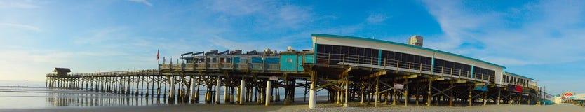 Пристань пляжа какао Стоковые Фотографии RF