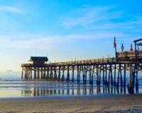 Пристань пляжа какао Стоковое Фото