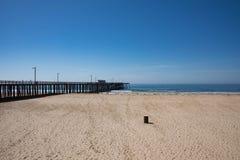 Пристань пляжа Pismo Стоковые Изображения