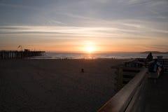 Пристань пляжа Pismo Стоковое Фото