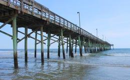 Пристань рыбной ловли Стоковая Фотография
