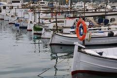 Пристань рыболовства Стоковые Изображения