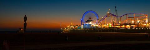 Пристань Санта-Моника Стоковые Фото