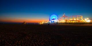 Пристань Санта-Моника Стоковая Фотография RF