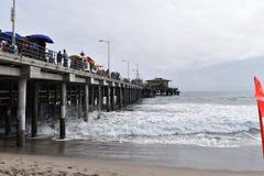 Пристань Санта-Моника стоковая фотография