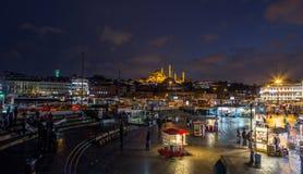 Пристань Стамбул Eminonu Стоковые Изображения