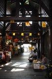 пристань Таиланд рынка традиционный Стоковые Фотографии RF