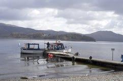 Пристань такси воды - Loch Lomond Стоковое Фото