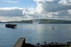Пристань & туристическое судно Стоковые Изображения RF