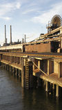 Пристань фабрики Стоковое Изображение RF