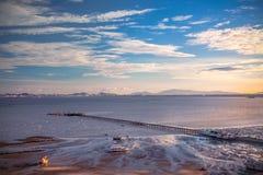 Пристань Стоковая Фотография
