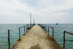 Пристань Стоковое Фото