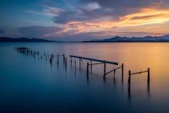 Пристань Стоковая Фотография RF