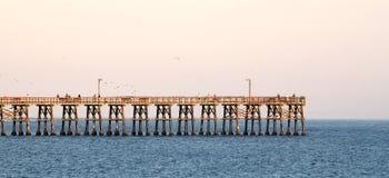 Пристань Goleta Стоковое фото RF