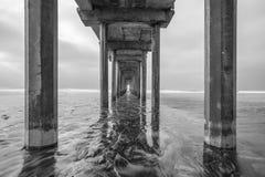 Пристань La Jolla Scripps Стоковое Изображение RF