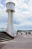 пристань littlehampton маяка Стоковые Изображения RF