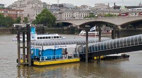 пристань london празднества Стоковое Изображение RF