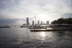 Пристань NYC стоковое фото rf