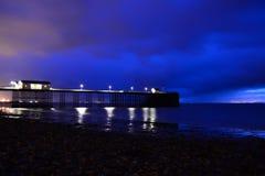 Пристань Penarth Стоковые Изображения RF