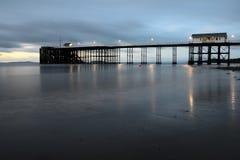 Пристань Penarth стоковое фото rf