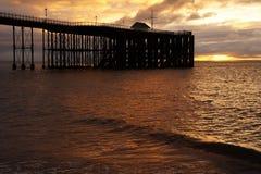 Пристань Penarth стоковая фотография