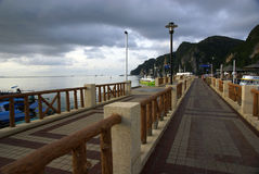 пристань phiphi острова Стоковые Фото