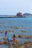 Пристань Qingdao в Китае стоковое изображение