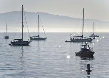 пристань santa Барвары Стоковое фото RF