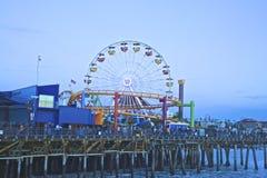 Пристань Santa Monica Стоковое Изображение