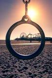 Пристань Santa Monica Стоковая Фотография