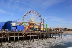 Пристань Santa Monica Стоковое Фото